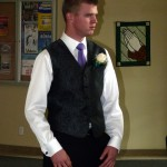 picture of Rett at the wedding