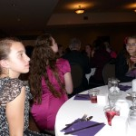 pictures of girls at the wedding reception