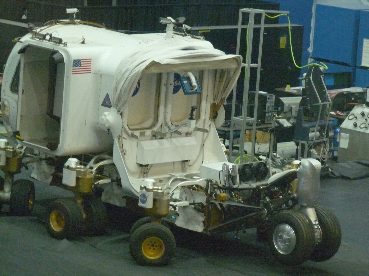 Picture of NASA space buggy