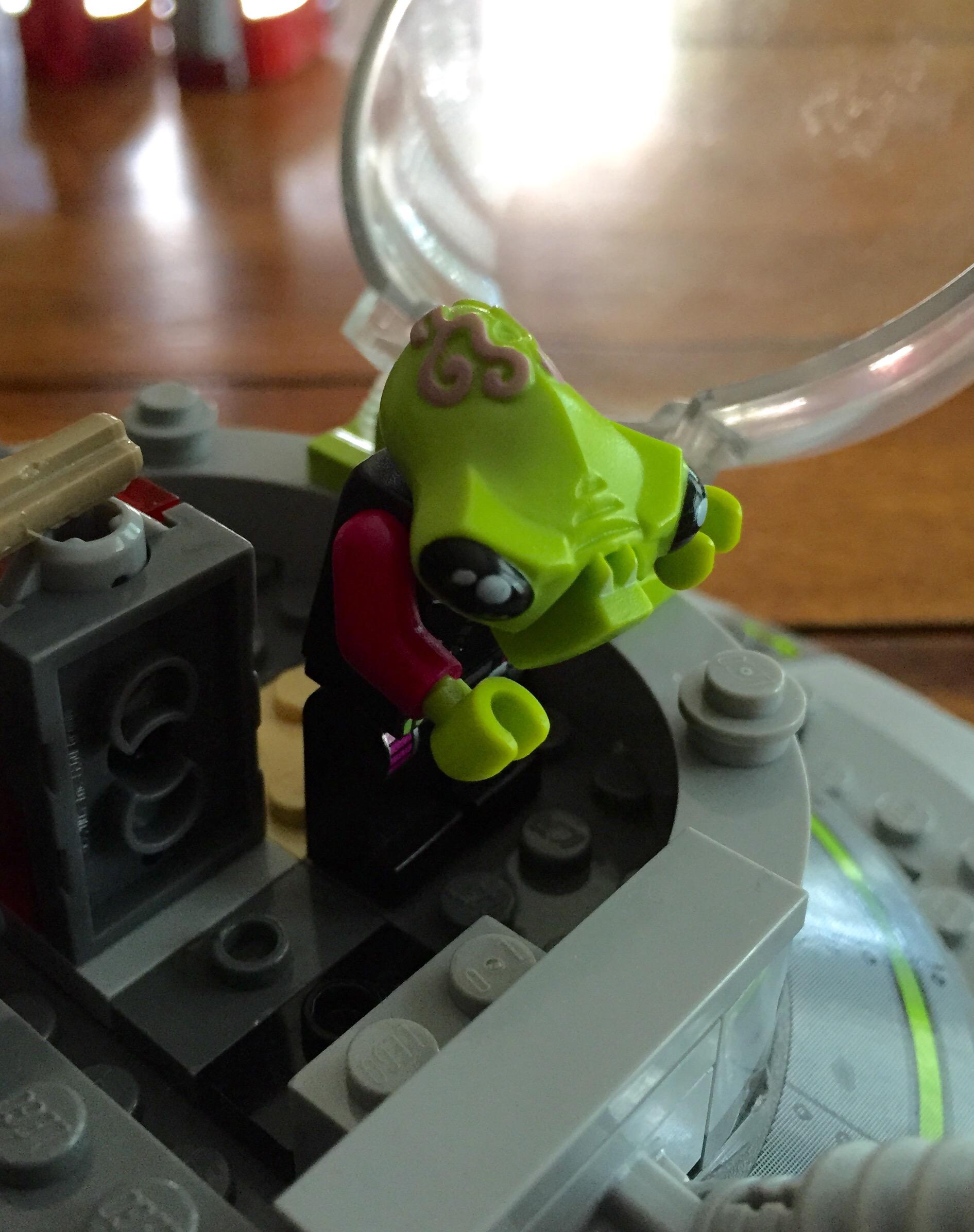 Lego UFO Abduction